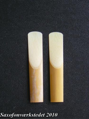 Asymetriske saxofonblade