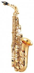 Jupiters 767 altsaxofon er en relativt vægtig saxofon med stor klang - Saxofonværkstedet