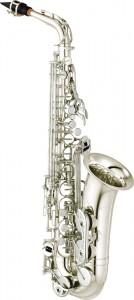 Yamaha YAS 280 altsaxofon i sølv - Saxofonværkstedet